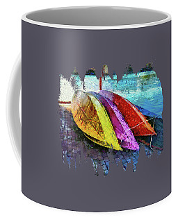 Coffee Mug featuring the photograph Daisy And The Rowboats by Thom Zehrfeld