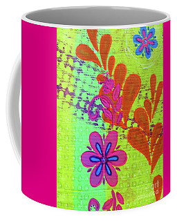 Daisy And Vine Coffee Mug by Desiree Paquette