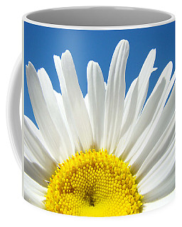 Daisy Art Prints White Daisies Flowers Blue Sky Coffee Mug
