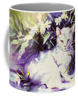 Daisy Cat Coffee Mug