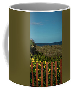 Daisy Dune Fence Delray Beach Florida Coffee Mug