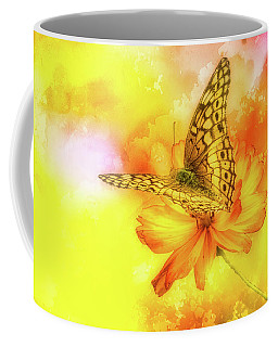 Daisy For A Butterfly Coffee Mug