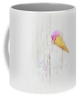 Daisy Ice Cream Cone Coffee Mug