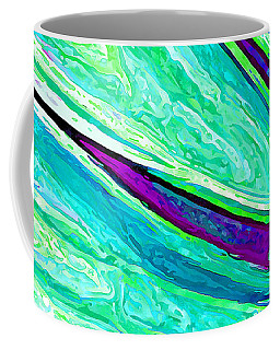 Daisy Petal Abstract 2 Coffee Mug