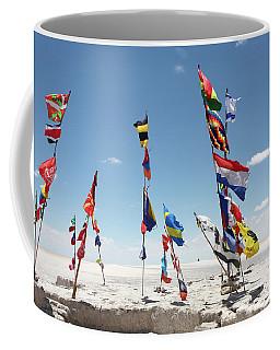 Dakar Rally Flags Coffee Mug