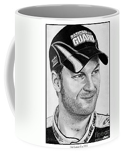 Dale Earnhardt Jr In 2009 Coffee Mug