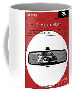 Dale Earnhardt Sr., The Intimidator, Nascar, Minimalist Poster Art Coffee Mug