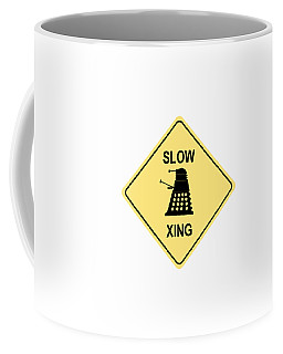 Dalek Crossing Coffee Mug