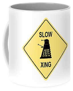 Dalek Crossing Coffee Mug