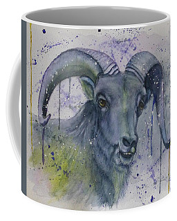Dall Sheep In Living Color Coffee Mug
