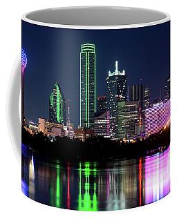 Dallas Colorful Night 52716 Coffee Mug