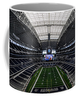 Dallas Cowboys Stadium End Zone Coffee Mug