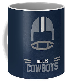 Dallas Cowboys Vintage Art Coffee Mug