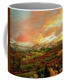 Dallas Divide Sunset Coffee Mug