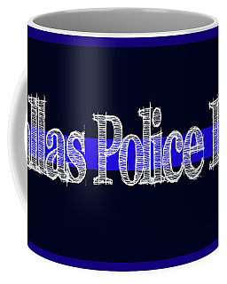 Dallas Police Dept. Blue Line Mug Coffee Mug