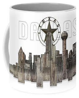 Dallas Texas Skyline Coffee Mug