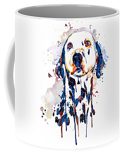 Dalmatian Head Coffee Mug
