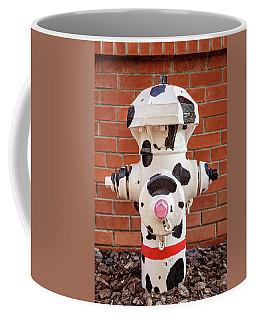 Dalmation Hydrant Coffee Mug by James Eddy
