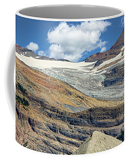 Daly Glacier And Yoho National Park Adventure Coffee Mug