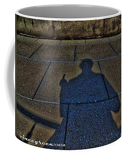 Damn Shadow Figure Coffee Mug