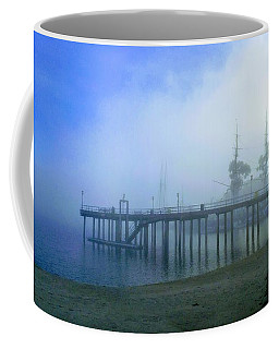 Dana Point Harbor When The Fog Rolls In Coffee Mug