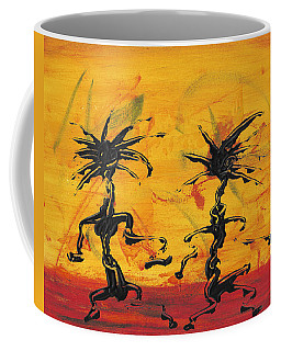 Dance Art Dancing Couple X Coffee Mug