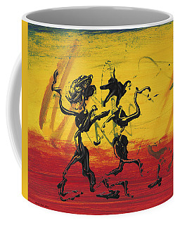 Dance Art Dancing Couple Xii Coffee Mug