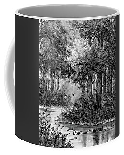 Dance Me To The End Of Love Bw Coffee Mug