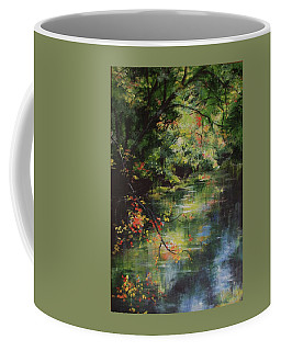 Dance Of Color And Light Coffee Mug