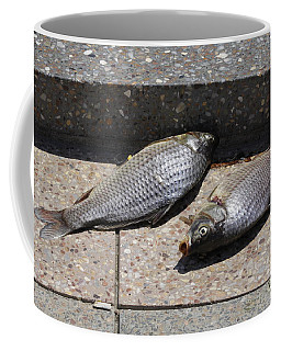 Dance Of The Dead Fish Coffee Mug