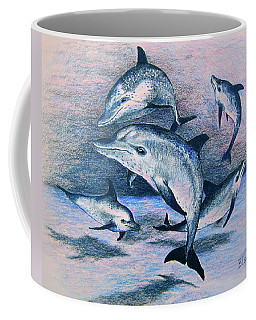 Dance Of The Deep Coffee Mug by Yvonne Blasy