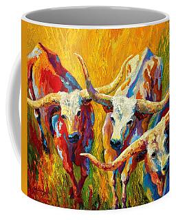 Dance Of The Longhorns Coffee Mug