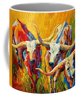 Dance Of The Longhorns Coffee Mug