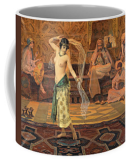 Coffee Mug featuring the painting Dance Of The Seven Veils by Otto Pilny
