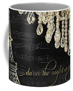 Coffee Mug featuring the mixed media Dance The Night Away 1 by Audrey Jeanne Roberts