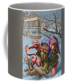 Dance With An Apple Coffee Mug