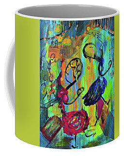 Dancers Abstract Coffee Mug