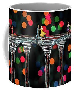 Dancers On Wine Glasses Coffee Mug