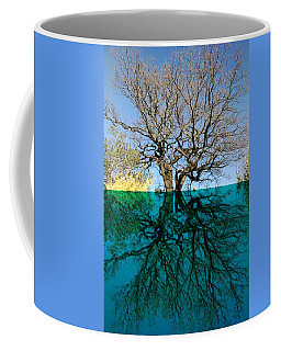 Dancers Tree Reflection  Coffee Mug