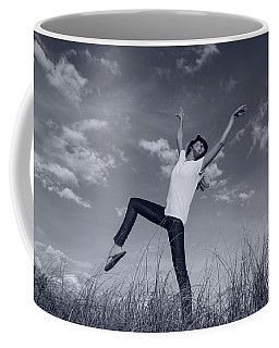 Dancing At The Beach Coffee Mug