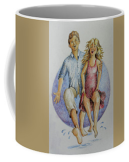 Dancing Barefoot In The Rain Coffee Mug