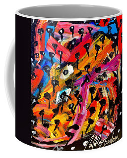 Dancing Car Keys Coffee Mug