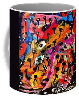 Dancing Car Keys Coffee Mug