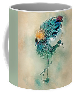Dancing Crane Coffee Mug
