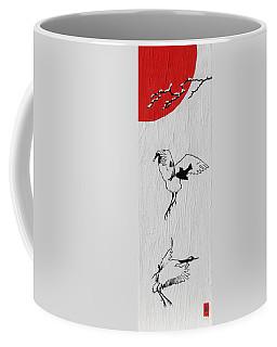Dancing Cranes Coffee Mug