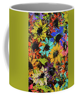 Dancing Daisies Coffee Mug by JAMART Photography