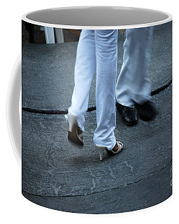 Dancing Feet At The Dominican Republic Son Party Number One Coffee Mug