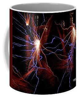 Dancing Fireworks #0707 Coffee Mug
