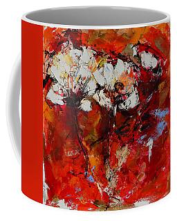 Dancing Flowers Coffee Mug by Elise Palmigiani