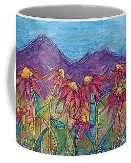 Dancing Flowers Coffee Mug by Tanielle Childers